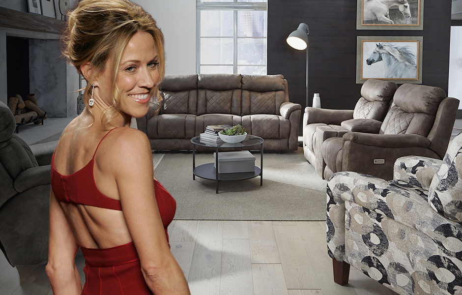Sheryl Crow and Southern Motion's Wow Factor Sofa