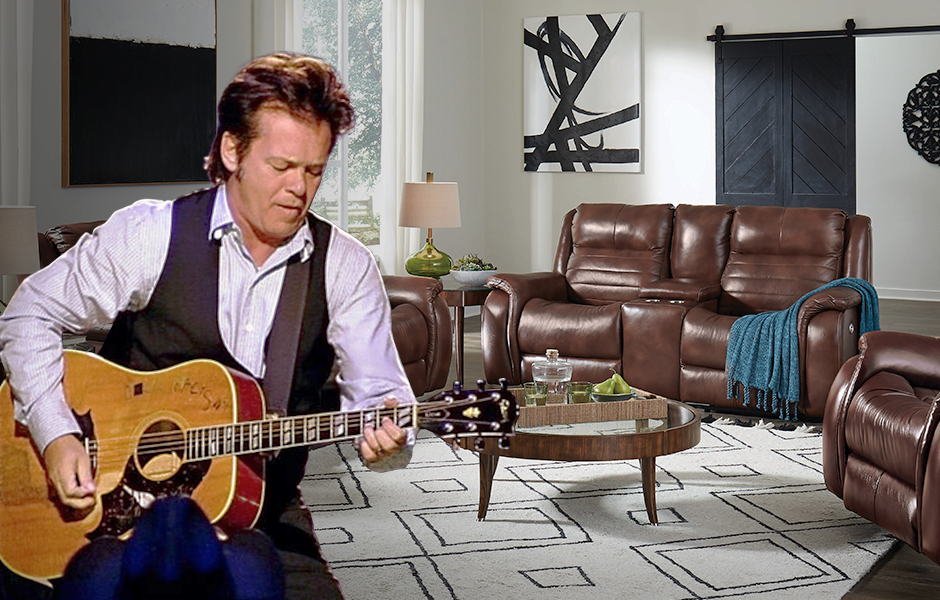John Mellencamp and Southern Motion's Essex Sofa