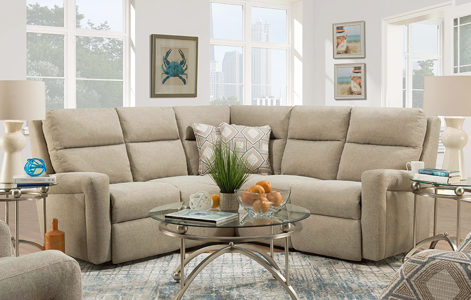 Modern Southern Motion sectional