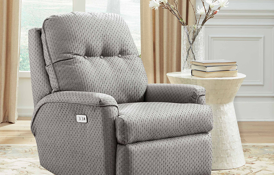 Southern Motion's Gigi Recliner for small living room layouts