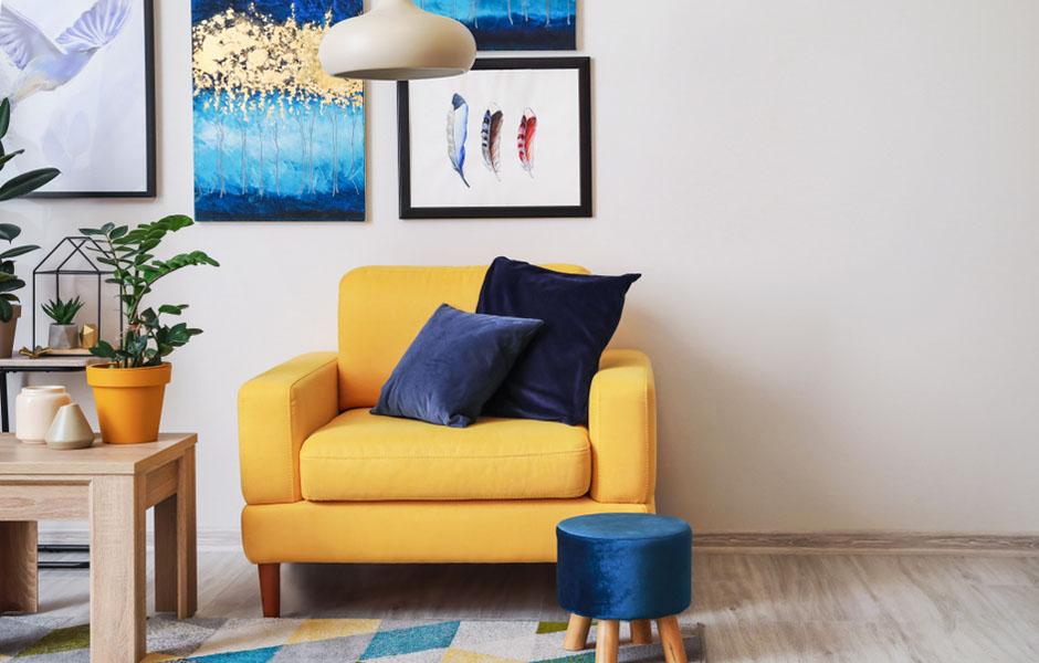 Interior design based on ESFP personality type