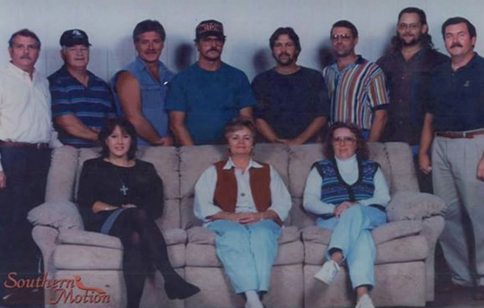 The original Southern Motion Furniture team